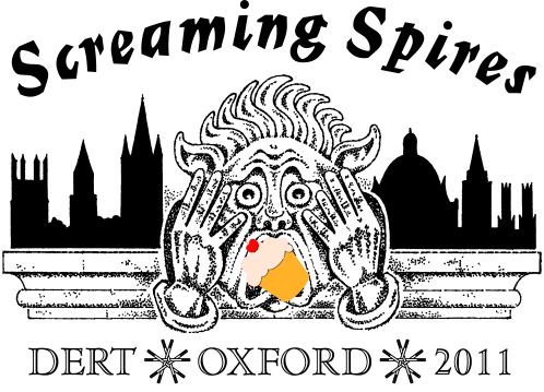 Screaming Spires Cake Competition logo